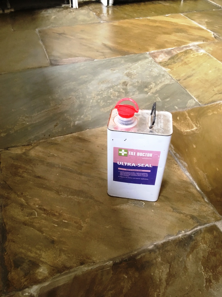 Sealing Flagstone Floors